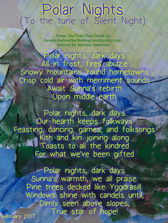 Winter trees lyrics